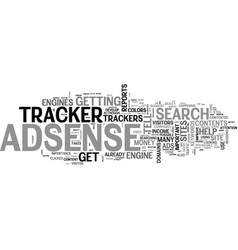 Are adsense tracker that important you bet your vector