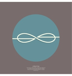 Infinity sign vector image vector image
