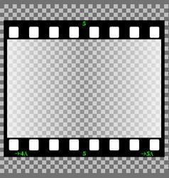 Photographic film vector