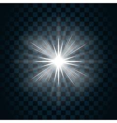 Sparkle light star 7 vector
