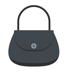 woman bag icon isolated vector image