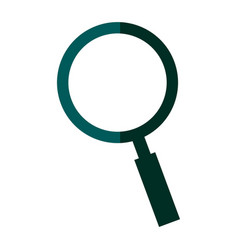 Search find innovation research shadow vector