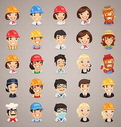 Professions icons set1 3 vector