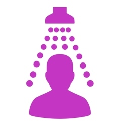 Patient disinfection icon vector