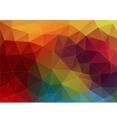 Abstract composition with geometric shapes vector
