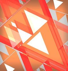 Background abstrac orange vector image vector image