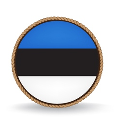Estonia seal vector