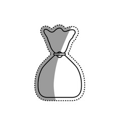 money bag isolated vector image