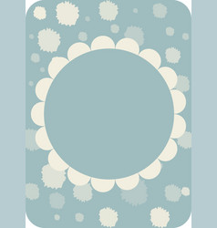 Template for birthday cardpostcardwedding vector