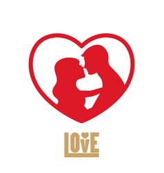love logo love logo vector image