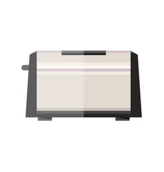 toaster flat style vector image vector image