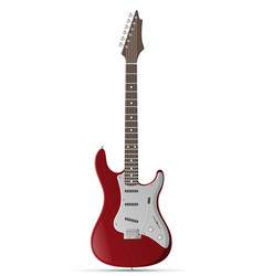 Electric guitar stock vector