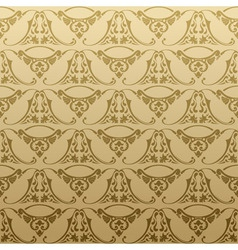 Seamless retro background pattern vector