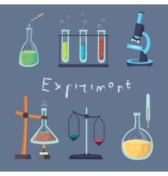 The laboratory experiment vector
