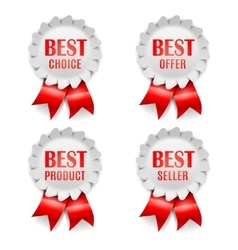 Best choice awards vector