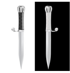 dagger vector image vector image