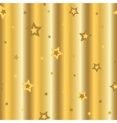 Stars gold background cartoon wavy vector