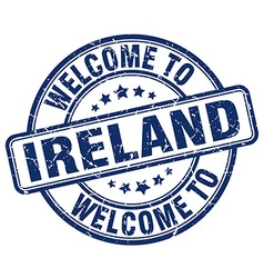 welcome to Ireland vector image vector image