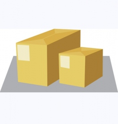 two box vector image