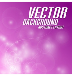 background light abstract pink vector image vector image