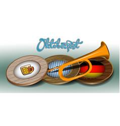 Oktoberfest graphic design vector