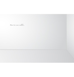 White 3d copyspace vector