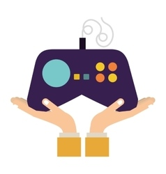 Console gamepad device vector