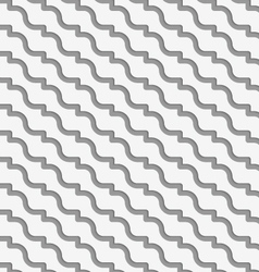 Perforated diagonal waves vector