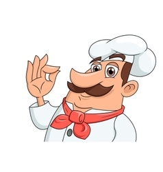 Smiling chef 2 vector