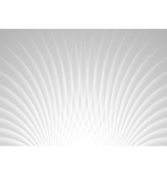 Abstract light grey swirl background vector