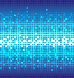 Abstract Technology blue background vector image vector image