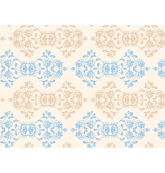 Ethnic seamless floral pattern vector image vector image