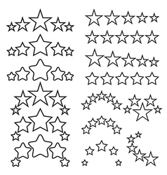 Five-star quality icons vector image