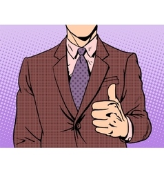 Gesture of good quality vector