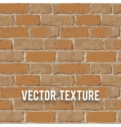 Red brick wall seamnless texture vector