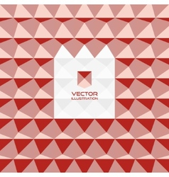Abstract 3d geometric background 3D vector image