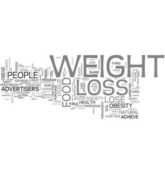Are advertisers to blame for americans weight vector