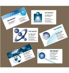 biz cards vector image vector image