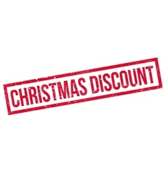 Christmas discount rubber stamp vector