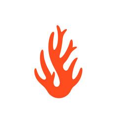 coral logo vector image vector image