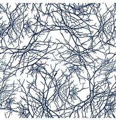 Texture branches seamless pattern vector
