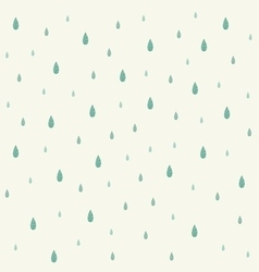 Raindrop background vector
