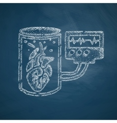 Tissue engineering icon vector