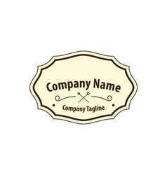 Old-fashion-label-380x400 vector