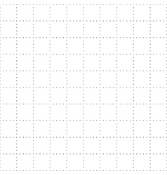 Seamless dotted squares geometric pattern vector