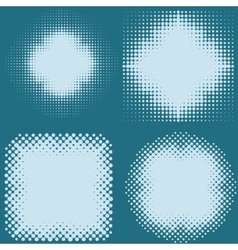 dot halftone screen vector image
