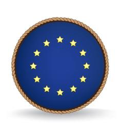 European Union Seal vector image