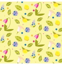 Flowerpattern vector