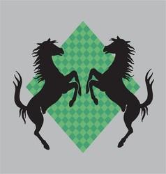 War Horse vector image