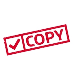 Copy rubber stamp vector